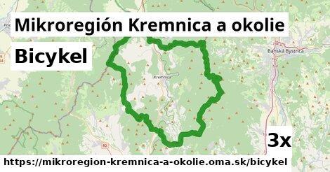 bicykel v Mikroregión Kremnica a okolie