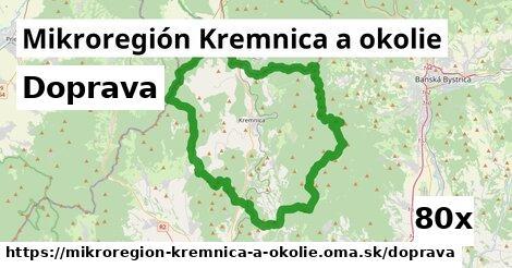 doprava v Mikroregión Kremnica a okolie