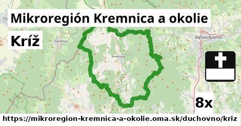 kríž v Mikroregión Kremnica a okolie