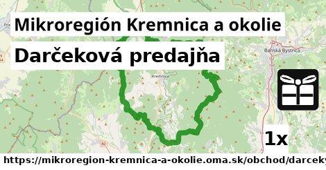 darčeková predajňa v Mikroregión Kremnica a okolie