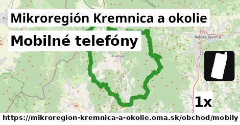 mobilné telefóny v Mikroregión Kremnica a okolie