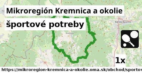 športové potreby v Mikroregión Kremnica a okolie
