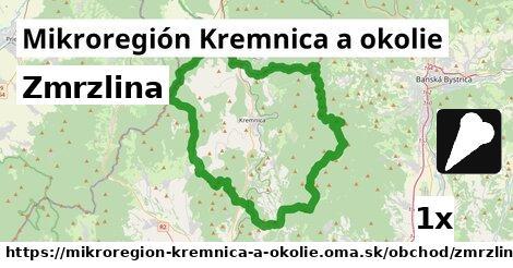 zmrzlina v Mikroregión Kremnica a okolie
