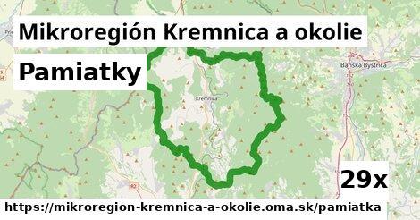 pamiatky v Mikroregión Kremnica a okolie