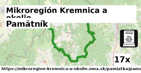 pamätník v Mikroregión Kremnica a okolie