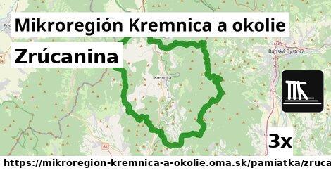 zrúcanina v Mikroregión Kremnica a okolie