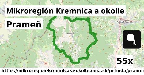 prameň v Mikroregión Kremnica a okolie