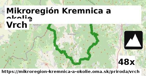 vrch v Mikroregión Kremnica a okolie