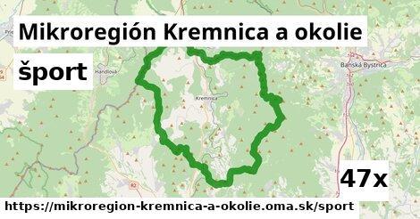 šport v Mikroregión Kremnica a okolie