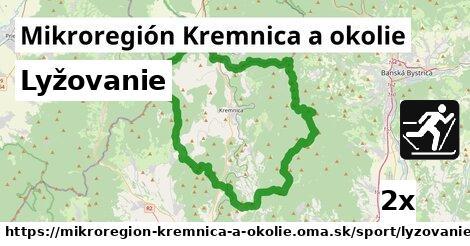 lyžovanie v Mikroregión Kremnica a okolie