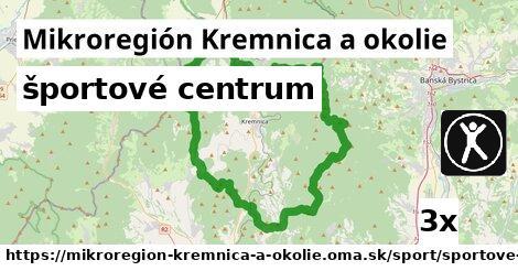 športové centrum v Mikroregión Kremnica a okolie