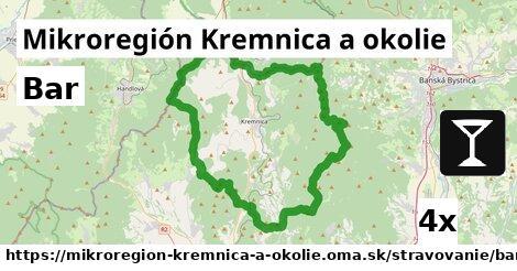 bar v Mikroregión Kremnica a okolie