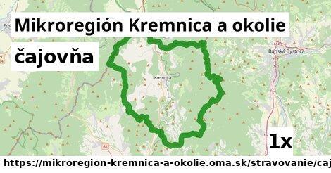 čajovňa v Mikroregión Kremnica a okolie