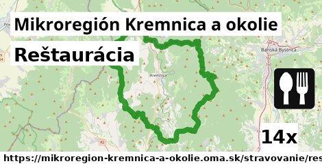 reštaurácia v Mikroregión Kremnica a okolie