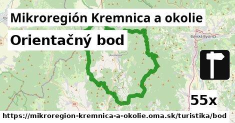 orientačný bod v Mikroregión Kremnica a okolie