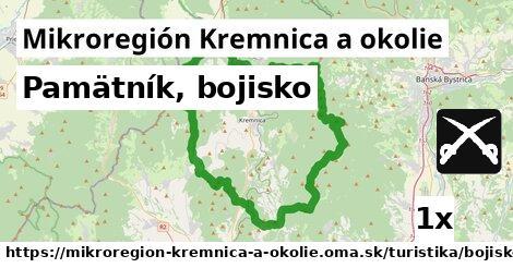 pamätník, bojisko v Mikroregión Kremnica a okolie