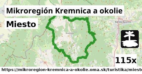 miesto v Mikroregión Kremnica a okolie