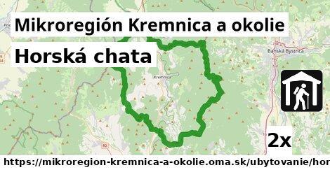 horská chata v Mikroregión Kremnica a okolie