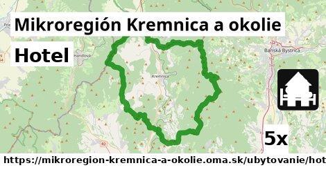 hotel v Mikroregión Kremnica a okolie