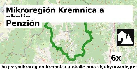 penzión v Mikroregión Kremnica a okolie