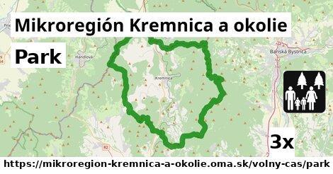 park v Mikroregión Kremnica a okolie
