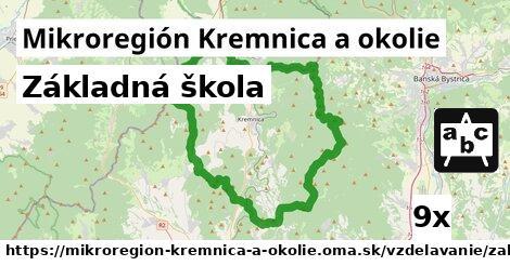 základná škola v Mikroregión Kremnica a okolie