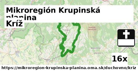 kríž v Mikroregión Krupinská planina