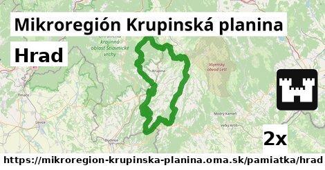 ilustračný obrázok k Hrad, Mikroregión Krupinská planina