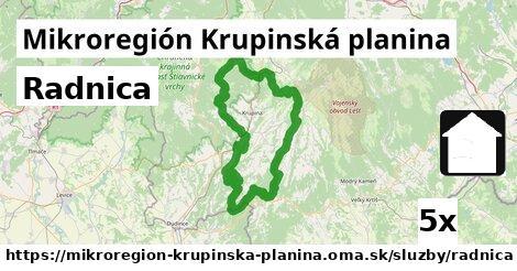 radnica v Mikroregión Krupinská planina