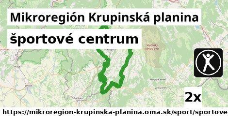 ilustračný obrázok k športové centrum, Mikroregión Krupinská planina