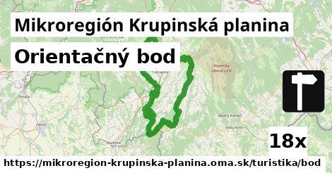 orientačný bod v Mikroregión Krupinská planina