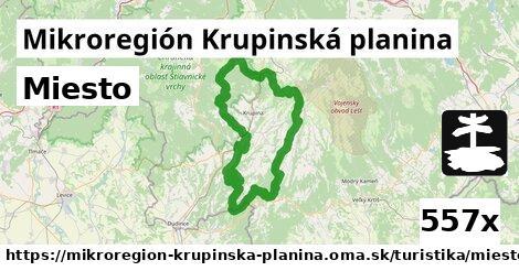 ilustračný obrázok k Miesto, Mikroregión Krupinská planina