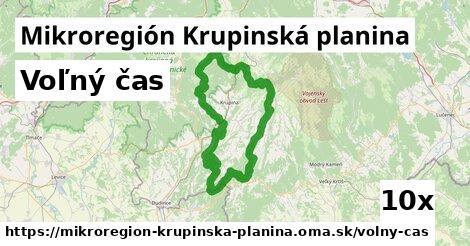 voľný čas v Mikroregión Krupinská planina