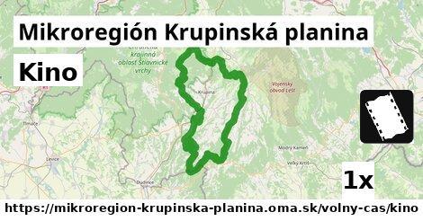 kino v Mikroregión Krupinská planina
