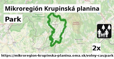 park v Mikroregión Krupinská planina