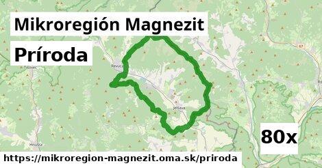 príroda v Mikroregión Magnezit