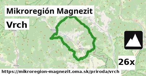 vrch v Mikroregión Magnezit