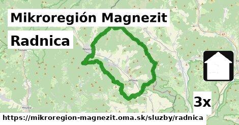 ilustračný obrázok k Radnica, Mikroregión Magnezit