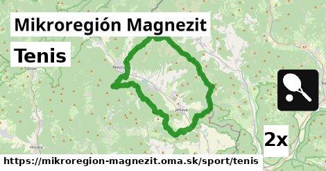 ilustračný obrázok k Tenis, Mikroregión Magnezit