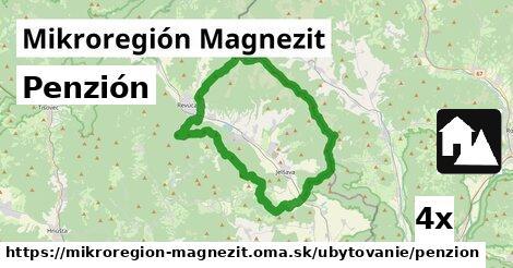 ilustračný obrázok k Penzión, Mikroregión Magnezit