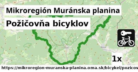ilustračný obrázok k Požičovňa bicyklov, Mikroregión Muránska planina