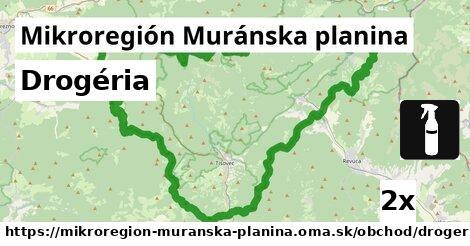 ilustračný obrázok k Drogéria, Mikroregión Muránska planina