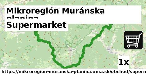 ilustračný obrázok k Supermarket, Mikroregión Muránska planina
