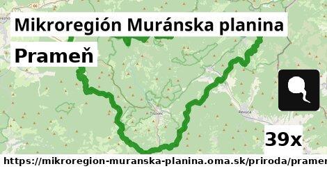 ilustračný obrázok k Prameň, Mikroregión Muránska planina
