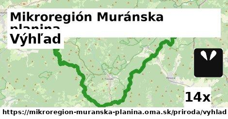 ilustračný obrázok k Výhľad, Mikroregión Muránska planina