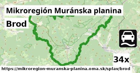 ilustračný obrázok k Brod, Mikroregión Muránska planina