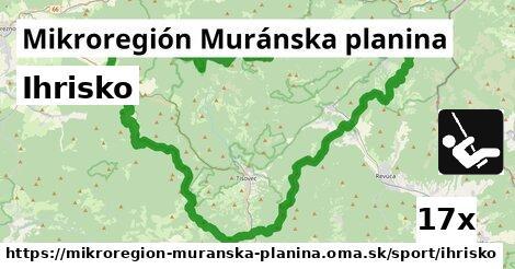 ilustračný obrázok k Ihrisko, Mikroregión Muránska planina