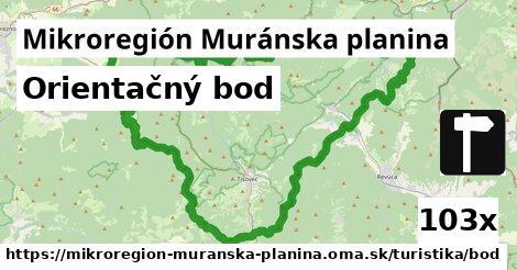 ilustračný obrázok k Orientačný bod, Mikroregión Muránska planina