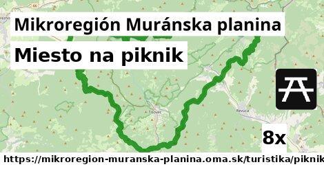 ilustračný obrázok k Miesto na piknik, Mikroregión Muránska planina