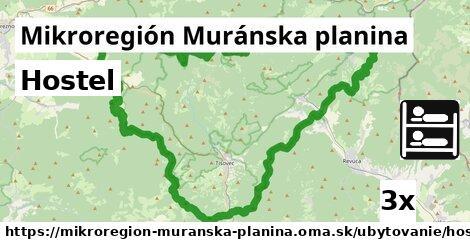 ilustračný obrázok k Hostel, Mikroregión Muránska planina